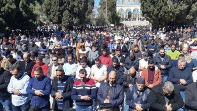 Photo of Meski Dihadang Israel, 50 Ribu Jemaah Ikuti Shalat Jumat di Al-Aqsa