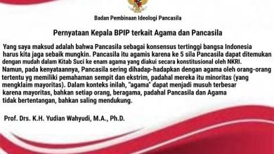 Photo of Klarifikasi Kepala BPIP Bikin Pusing