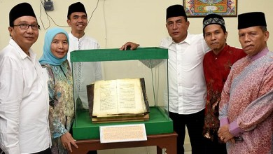 Photo of 70 Manuskrip Kuno Tersimpan di Museum Sejarah Al-Qur'an Medan