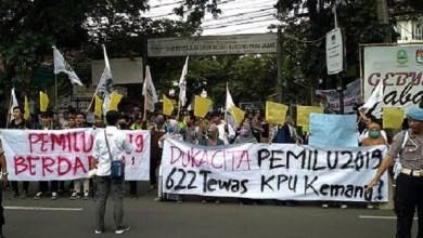 Photo of Sementara Korban Pemilu Serentak 2019 Lebih Besar Daripada Corona
