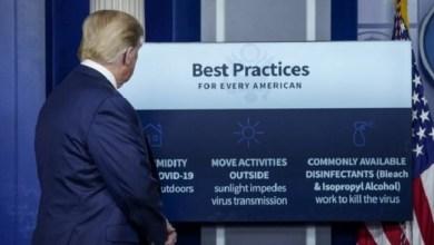 Photo of Konyol, Donald Trump Sarankan Pasien COVID-19 Disuntik Cairan Disinfektan