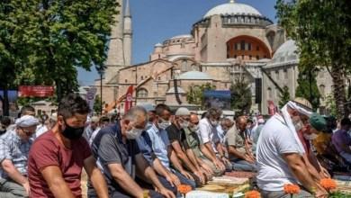 Photo of Ribuan Jamaah Shalat Jumat Pertama di Masjid Hagia Sophia, Terharu dan Merinding