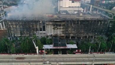 Photo of Gedung Kejaksaan Terbakar, Kasus Korupsi Ambyar