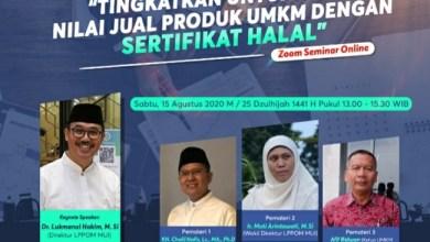 Photo of Ayo Ikuti Webinar Nasional UMKM dan Sertifikat Halal
