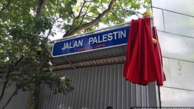 Photo of Malaysia Buat Nama Jalan Palestina