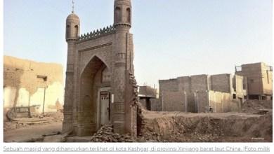 Photo of Ribuan Masjid di Xinjiang Dihancurkan, Wamenag Minta China Beri Penjelasan