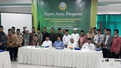 Photo of Pengurus Baru Dewan Da'wah Gelar Raker Perdana
