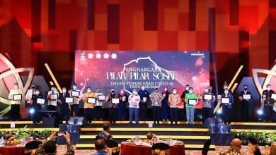 Photo of DKI Jakarta Juara Satu di Dua Katagori Penghargaan Pilar-Pilar Sosial Penanganan Covid dari Kemensos