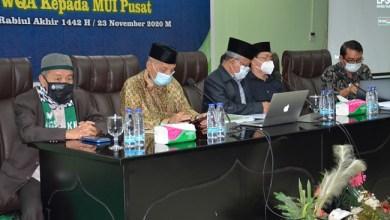 Photo of Pimpinan dan Panitia Munas MUI ke-10 Jalani Tes Swab