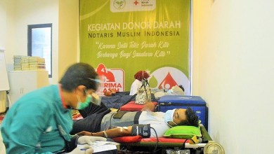 Photo of Peringati Milad Keempat, Notaris Muslim Indonesia Gelar Donor Darah