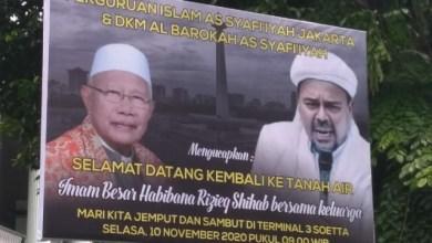 Photo of Dipimpin Kiai Rasyid, Jemaah As Syafiiyah Doakan Kepulangan Habib Rizieq Lancar