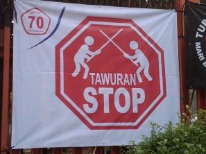 SuaraJakarta.com -Ilustrasi Stop Tawuran