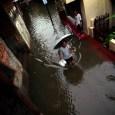 Banjir di Kecamatan Makasar, Jakarta Timur. (Foto: Kahiruddin Safri)