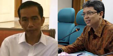 Ilustrasi Jokowi dan Triwisaksana (Foto: Istimewa)