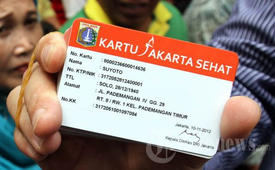 Kartu Jakarta Sehat (KJS) (Foto: Istimewa)
