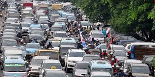 Ilustrasi peraturan ganjil genap DKI Jakarta