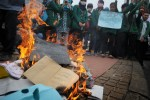 Mahasiswa Kelompok Cipayung Demo Tolak BBM Naik
