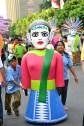 Ondel-ondel mini di Jakarnaval 2013 (Foto: Jauharry Faddly)