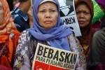 Aksi Demo Peringati Hari Tani Nasional di Istana Negara