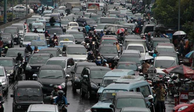 Macet di Jakarta. (VIVAnews/Ikhwan Yanuar)