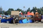 suara-jakarta-Dua-Armada-pengangkut-sampah-yang-membantu-mobilisasi-aksi-bersih-pantai