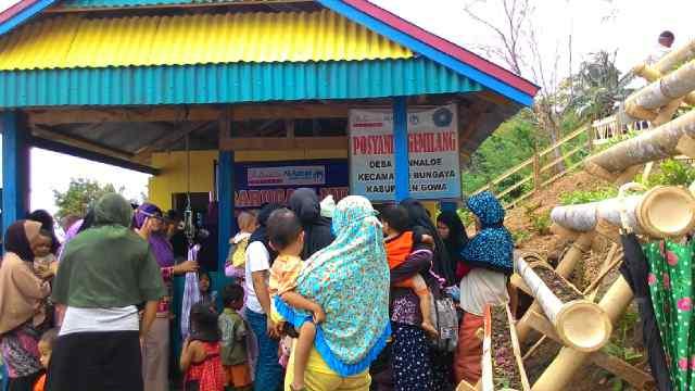 Pos Yandu Gemilang. (Foto: Dok Al Azhar Peduli Ummat)