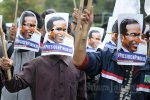 Aksi Demo Mahasiswa Desak Jokowi Mundur