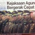 Headline Harian Nasional 22 Januari 2015, Kejaksaan Agung Bergerak Cepat