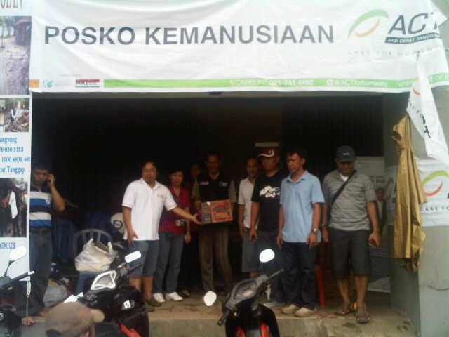 12 Posko Kemanusiaan ACT untuk Warga Terdampak Banjir Jabotabek