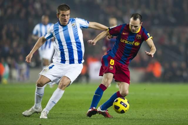 Barcelona versus malaga suara jakarta