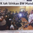 Headline Harian Nasional 30 Januari 2015, KPK Tak Izinkan BW Mundur