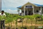 Banjir Cabe di Saung Ilmu Desa Gemilang