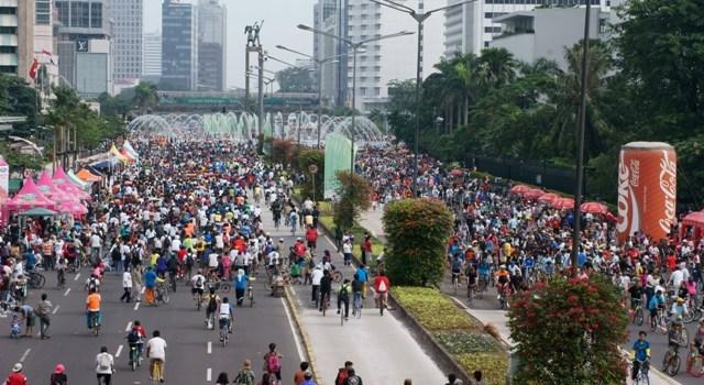 Car Free Day. (Foto: www.taufikariefhasibuan.com)