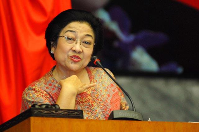 Ketua Umum PDIP, Megawati Soekarno Putri. (Foto: Harianterbit)