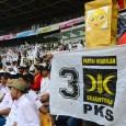 Kampanye PKS di Stadion Geloran Bung Karno, Jakarta. (Foto: Fajrul Islam/SuaraJakarta)