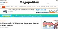 Bagaimana Cara Kompas.com Menuliskan Berita tentang Temuan BPK terhadap Laporan Keuangan Pemprov DKI?