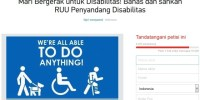 Hampir 10.000 Orang Dukung Pengesahan RUU Penyandang Disabilitas