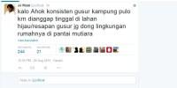 Warga Kampung Pulo Digusur Karena Tinggal di Bantaran Kali, Kok Ahok Biarkan Rumahnya Berdiri di Pantai Mutiara?
