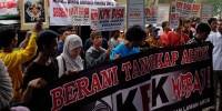 Presidium Pemuda Djayakarta: Berani Borgol Ahok, KPK Hebat!
