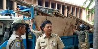 Ratusan Pedagang di Poncol Siap Dibongkar Camat Senen