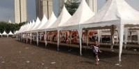 Relokasi PKL Masjid Akbar Kemayoran ke Gang Laler, Masih Dikeluhkan