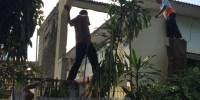 Rumah Pensiunan Penjaga Sekolah Dibongkar KPAD Jakarta Pusat