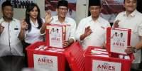 Tim Anies-Sandi Laporkan 64,4 Miliar Dana Akhir Kampanye ke KPUD