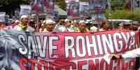 Berita Foto: Save Rohingya, Stop Genocide