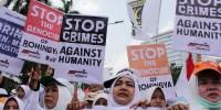 Ratusan Ribu Umat Islam Aksi Bela Rohingya, Ini Pernyataan Sikapnya