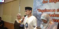 Luncurkan Konsep OK OCE 4.0, Sandi Lebih Memilih Jakartanomics, Bukan Sandinomics