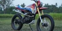 Karya Modifikasi Honda CRF150L Siap Jelajahi Yogyakarta