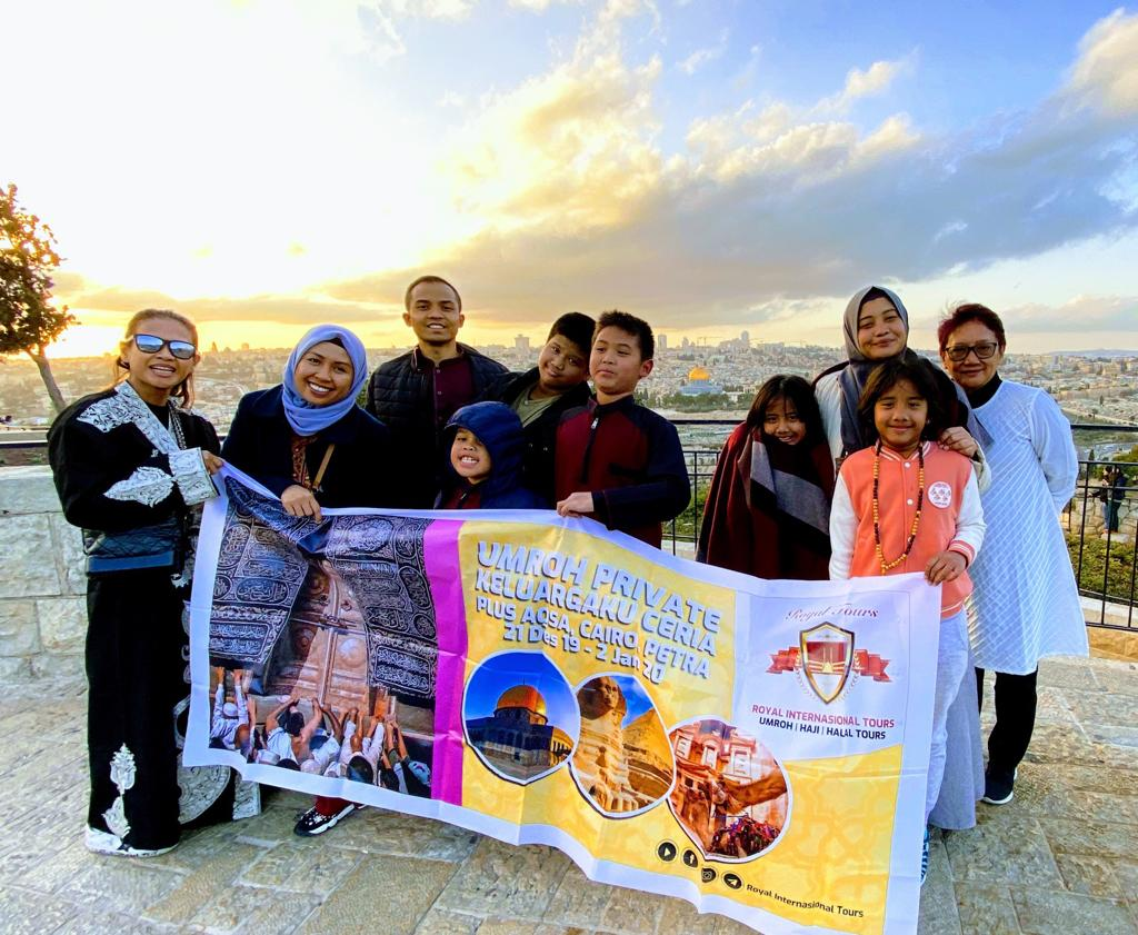 Jamaah Royal Internasional Tours di Al Aqsa Palestina - SuaraJakarta.co