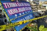 Polres Jakarta Barat Dibanjiri Karangan Bunga Berisi Ucapan Terimakasih