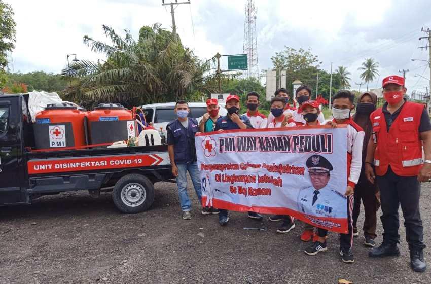 Abd Candra Kurniawan pimpin Tim PMI Way Kanan Peduli Lingkungan Sekolah di kecamatan Way Tuba